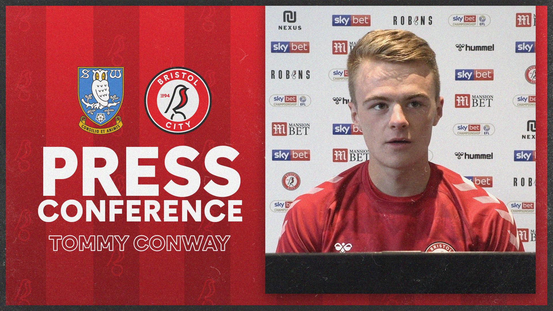 Tommy Conway Press Conference   Sheffield Wednesday v Bristol City