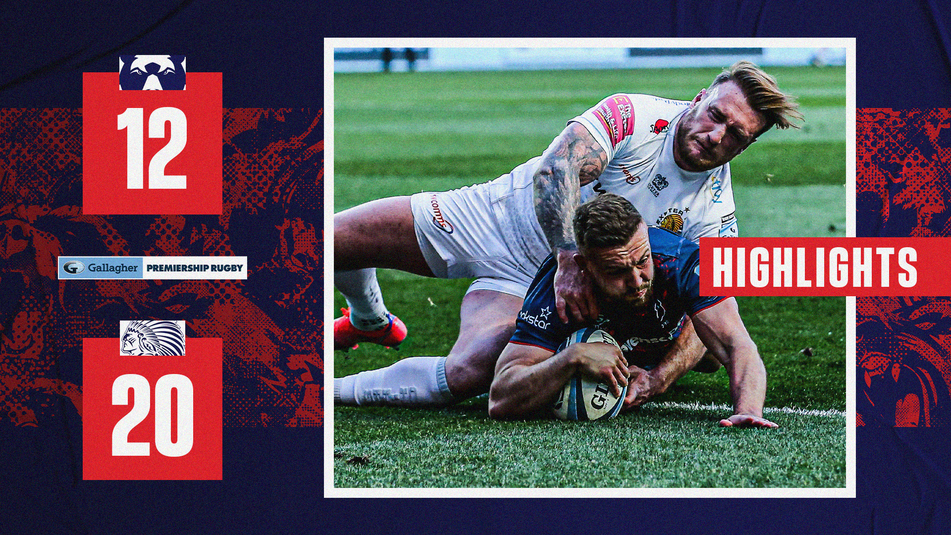 Highlights: Bristol Bears 12-20 Exeter Chiefs